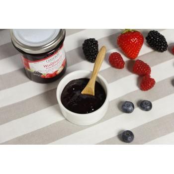 Frutti di bosco da spalmare, con pezzi interi di frutta