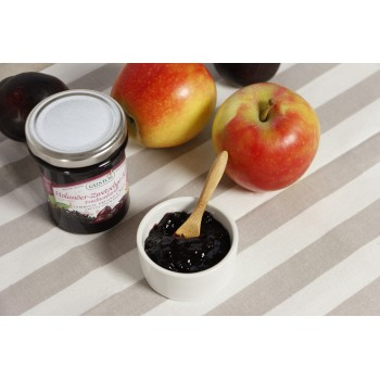 Frutta da spalmare sambuco, prugna e mela
