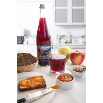 Succo mele e mirtilli, squisito e sano