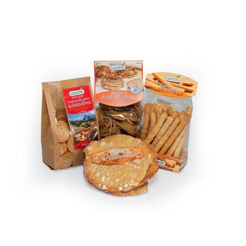 Il kit perfetto per gli amanti dello Schüttelbrot, il pane di segale altoatesino