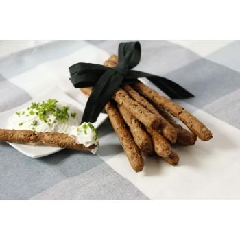 Grissini Multicereali con formaggio spalmabile, perfetti a colazione