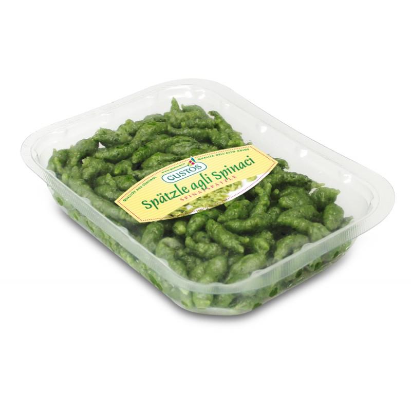 Gnocchetti Spatzle agli spinaci