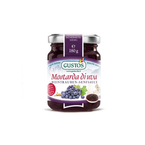 Mostarda di uva e ribes nero