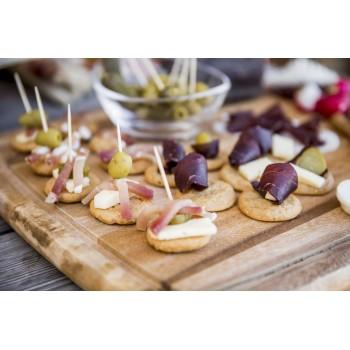 Ideale per realizzare stuzzichini invitanti da aperitivo