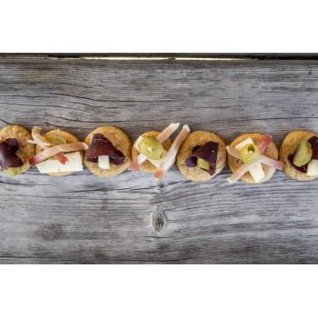 I Mini Schüttelbrot classici sono ideali come stuzzichini per aperitivi