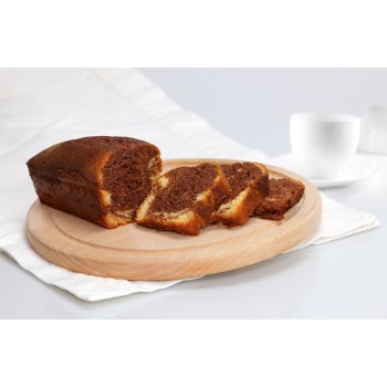 Torta marmorizzata servita a tavola