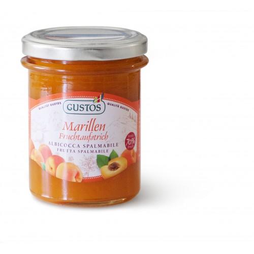 Frutta da spalmare di albicocche