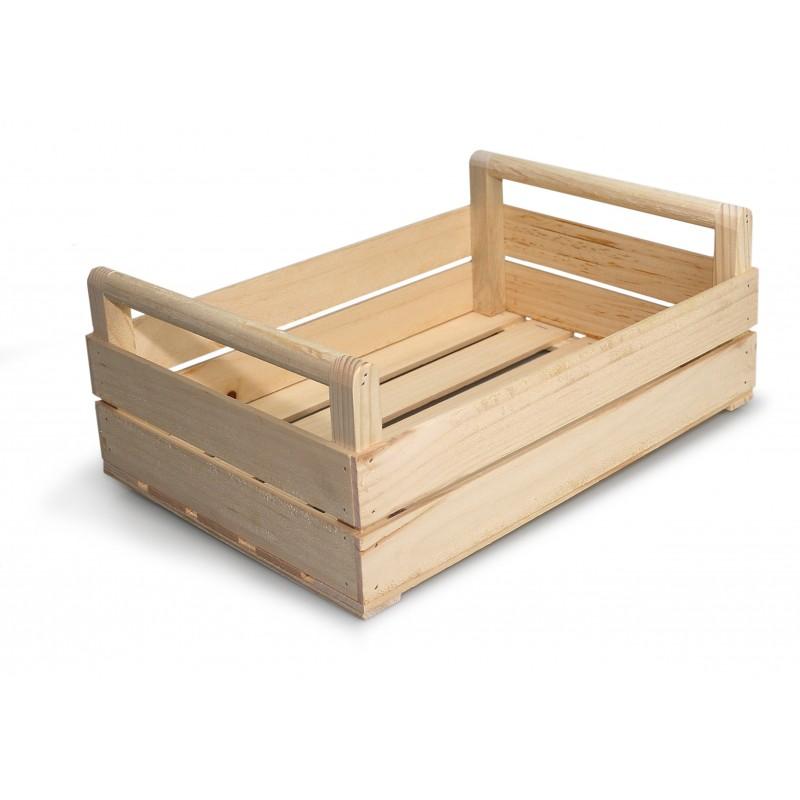 Cassetta di legno  tipica, riutilizzabile in tanti modi