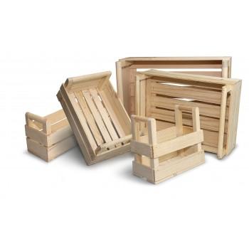cassette in legno in diverse misure