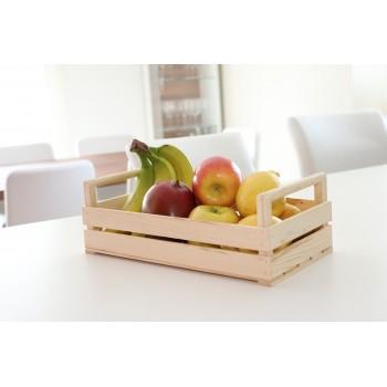 bellissima cassetta in legno porta frutta