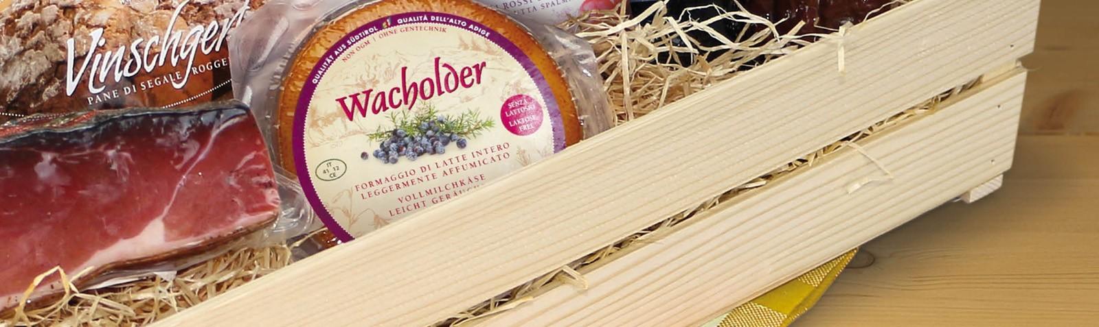Regala i prodotti tipici dell'Alto Adige