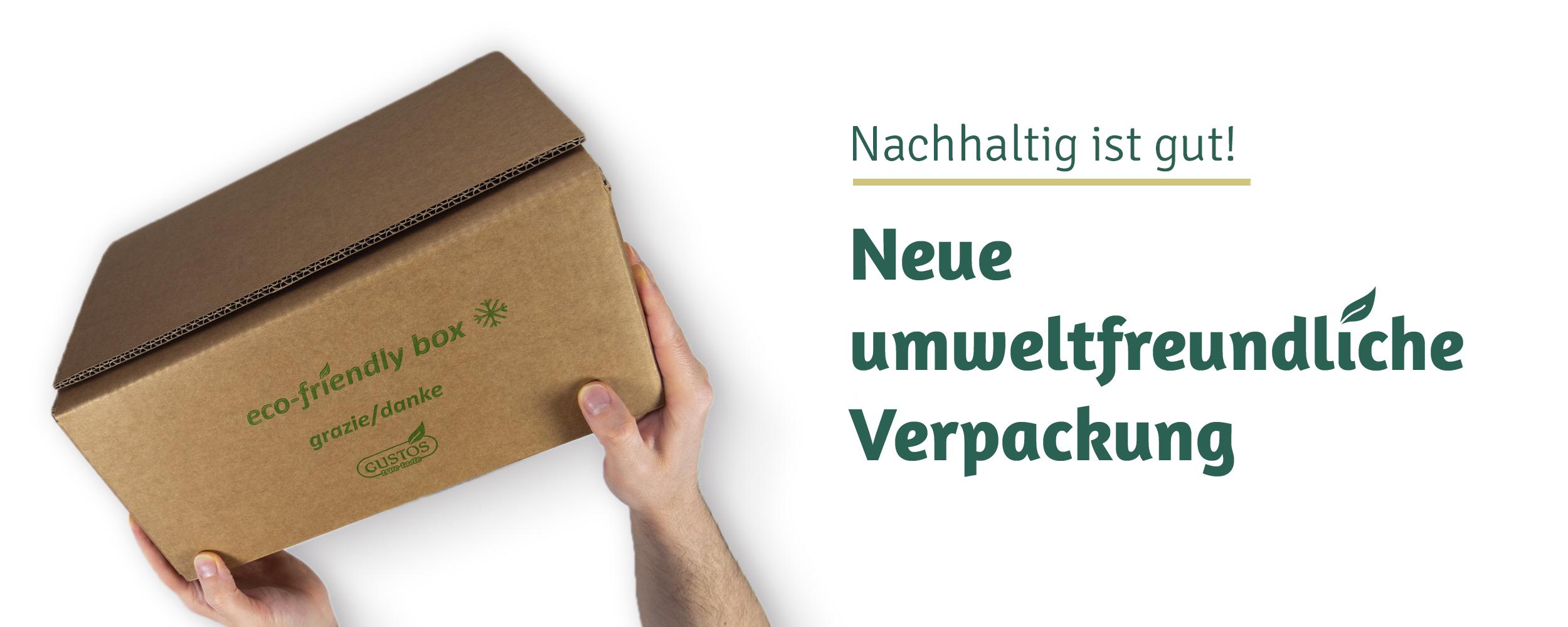 Neue Verpackung