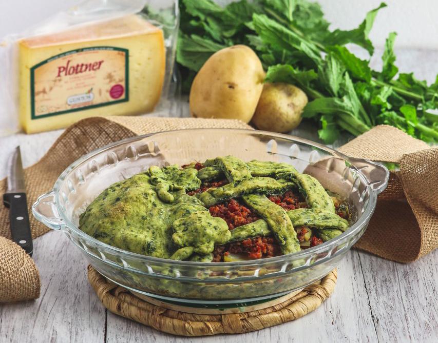 Crostata agli spinaci